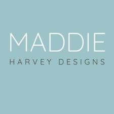 Logo reads Maddie Harvey Designs