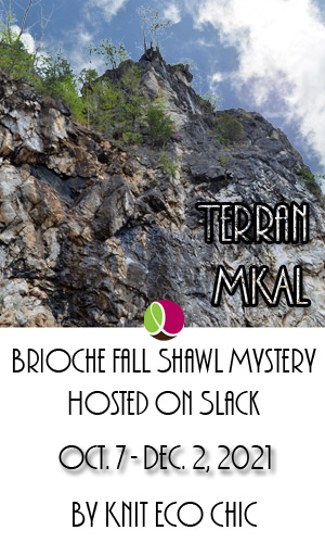 Brioche Shawl Mystery KAL by Knit Eco Chic