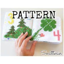 Children's counting book in crochet.
