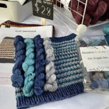 Mini set in blues for cowls.