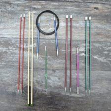 Array of Zing brand aluminum needles