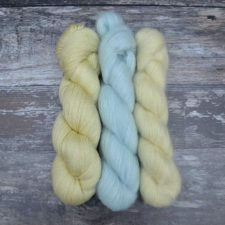 Lace weight skeins