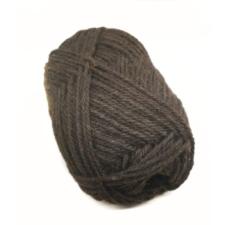 Dark skein of yarn.