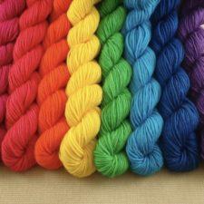 bright rainbow minis