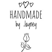 Hand-drawn logo with rose.