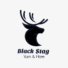 Black Stag logo with silhouette of a stag